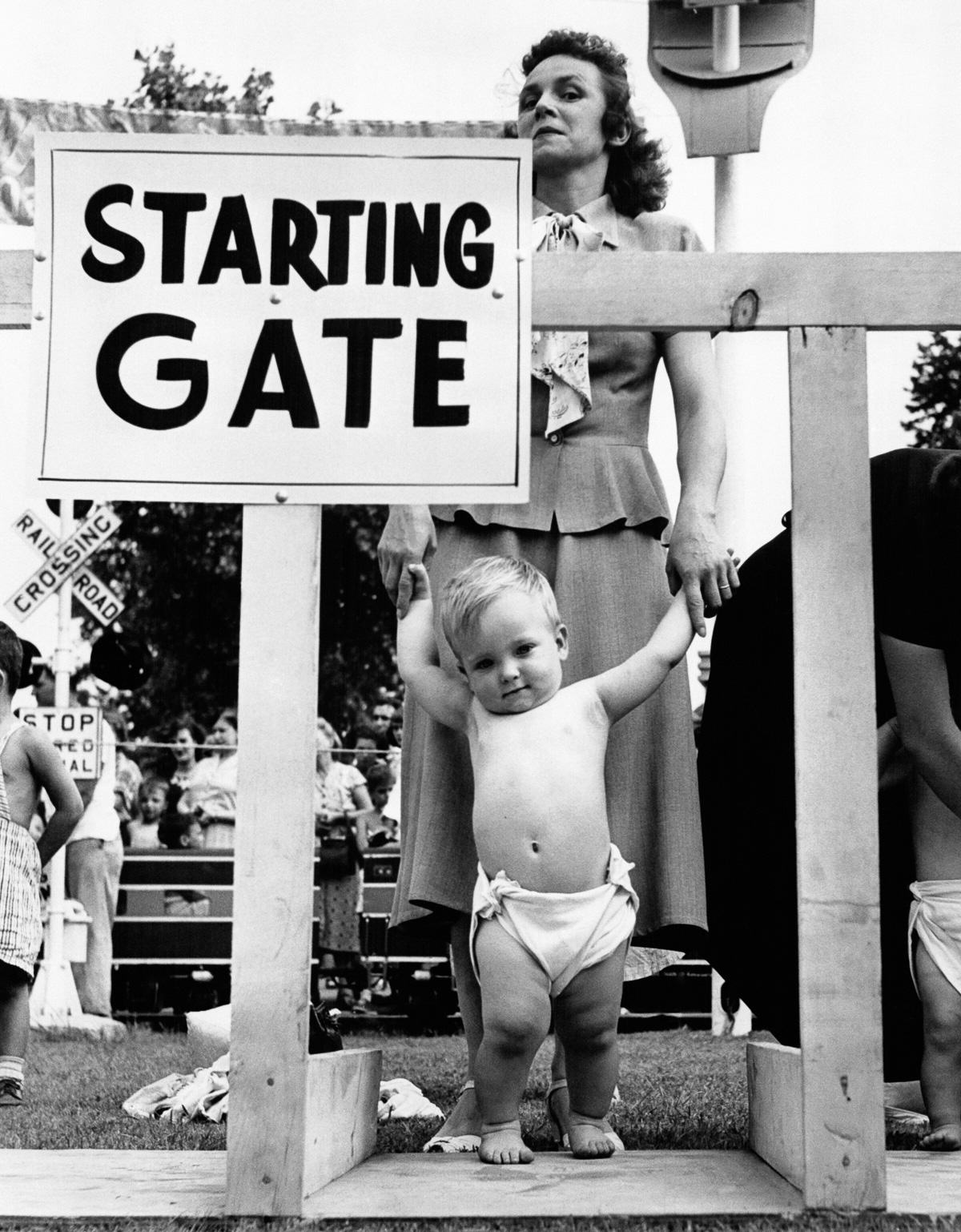 Baby Racing Used To Be A Real Life Actual Sport, And It Was Amazing UNILAD babyrace 124