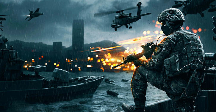 This New Battlefield 4 Cinematic Trailer Teases Free Update Night Operations UNILAD battlefield34