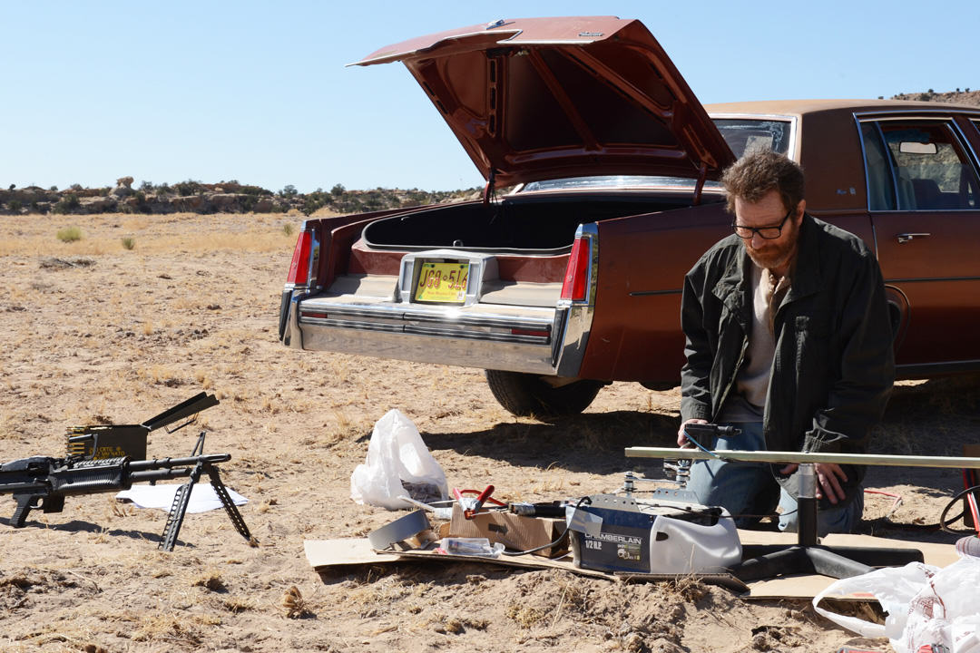 The Mythbusters Have Recreated Breaking Bads Machine Gun Finale UNILAD bm15