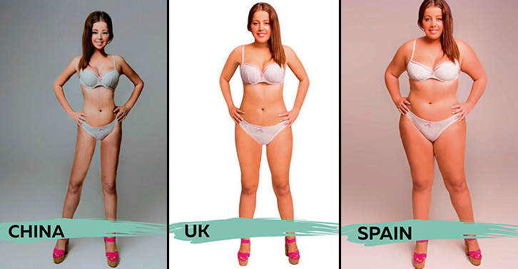 These Ideal Body Types For Women Around The World Are Seriously Interesting To See UNILAD body 1 27
