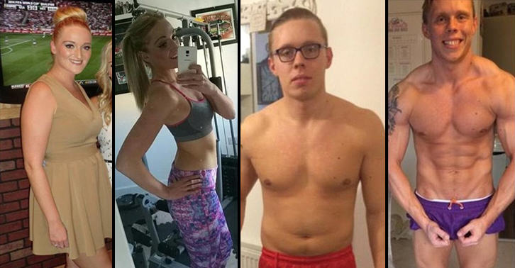 Couple Who Wanted To Lose Weight Before Their Wedding Are Now Bodybuilders UNILAD bodybuilding couple WEB 25