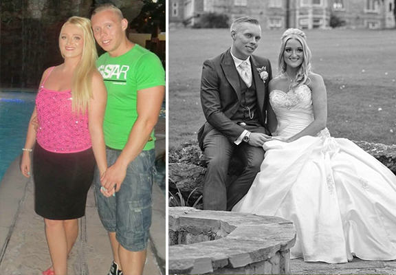 Couple Who Wanted To Lose Weight Before Their Wedding Are Now ...