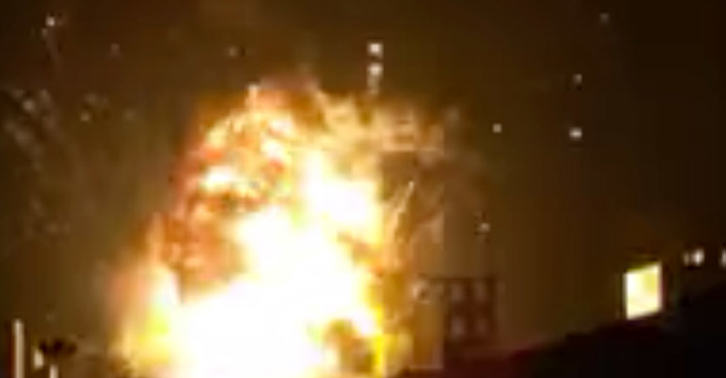 Another Enormous Factory Blast Has Just Rocked China UNILAD china blow 38
