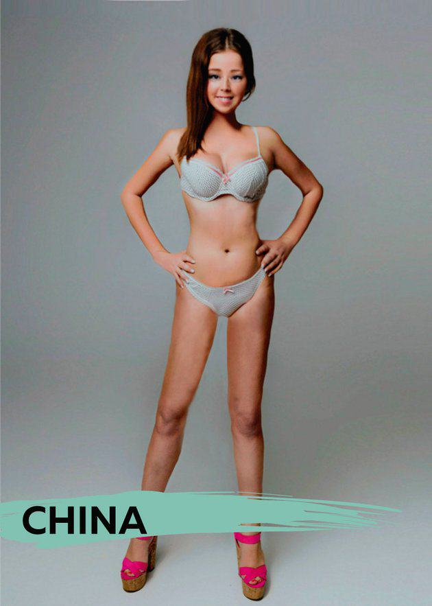 These Ideal Body Types For Women Around The World Are Seriously Interesting To See UNILAD chinab5
