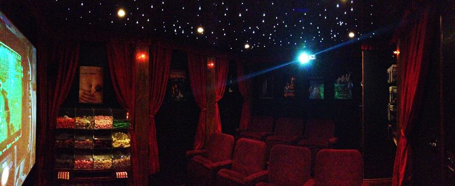 This Guy Transformed His Shed Into The Coolest Cinema Room Ever UNILAD cinema shed 67