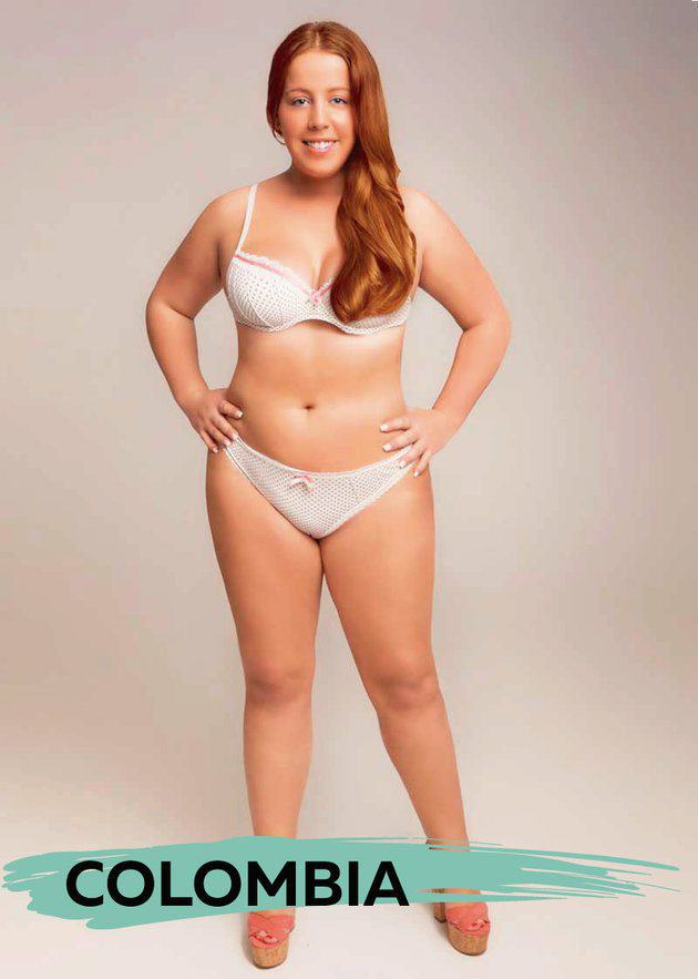 These Ideal Body Types For Women Around The World Are Seriously Interesting To See UNILAD colob2