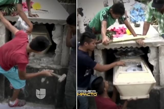 Pregnant Teen Wakes Up In Her Coffin The Day After Her Funeral UNILAD dead girl grave 3418523k5 640x426