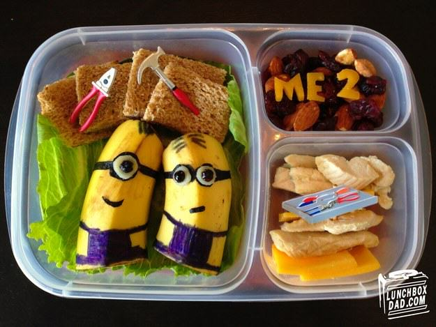 This Awesome Dad Makes The Best School Dinners Ever UNILAD despicable me4