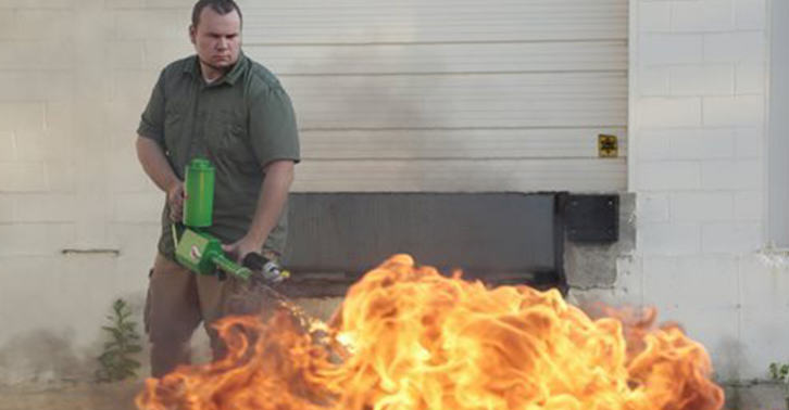 Unfortunately, Flamethrowers Might No Longer Be Available For Personal Use In Detroit UNILAD flame 34