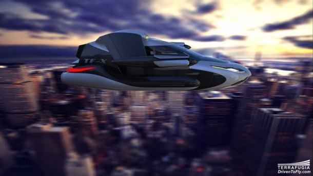 Awesome Images Of Flying Car Revealed, Ahead Of Its Test Flight UNILAD flying car 15