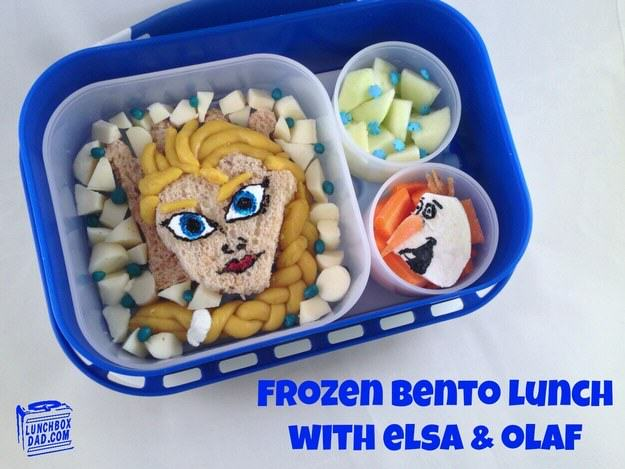 This Awesome Dad Makes The Best School Dinners Ever UNILAD frozen7