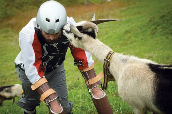 Man Gives Up Living As A Human To Be A Goat UNILAD goat37