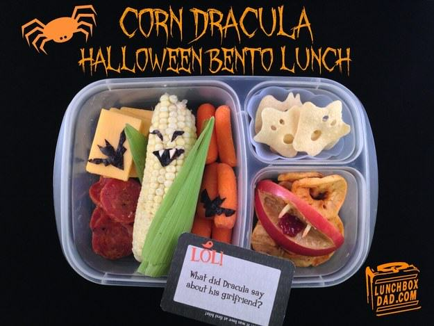 This Awesome Dad Makes The Best School Dinners Ever UNILAD halloween8