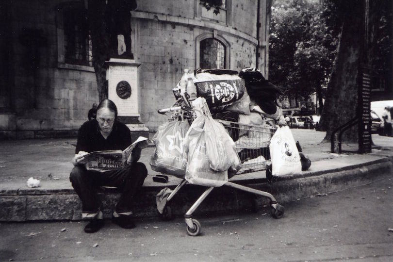 Here Is What The Homeless Population Of London Can Do With 100 Cameras UNILAD homeless23