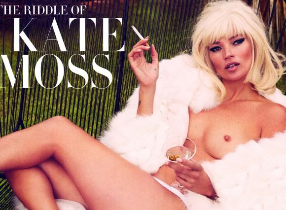 Science Has Discovered What The Perfect Pair Of Boobs Look Like, Apparently UNILAD kate moss topless in vanity fair magazine december 2012 01 580x4355 580x426