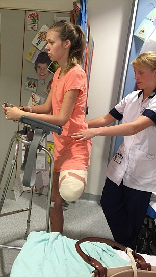 Brave Leah Washington, Who Lost Her Leg After The Smiler Crash, Speaks Out For The First Time UNILAD leahw4
