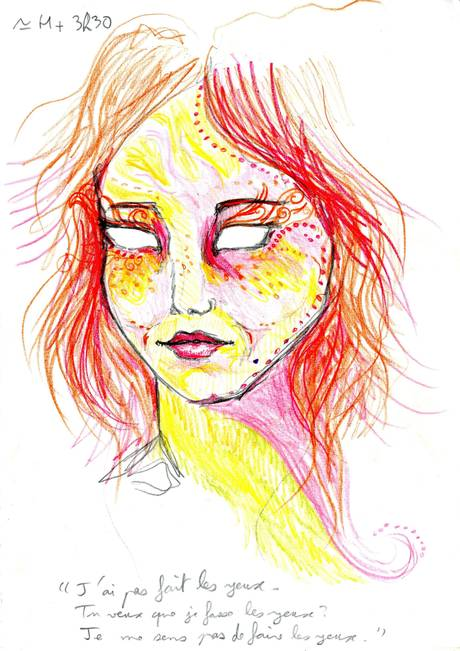 Artist Takes LSD, Draws Self Portraits Over 9 Hour Trip To See Effect UNILAD lsde4