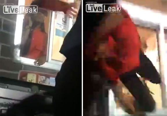 McDonalds Employee Pulled Into Customers Car During Drive Through Row UNILAD mcdonalds attack WEB4