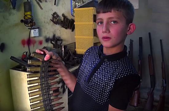 This Primary School Lad Repairs Sniper Rifles For Soldiers Fighting ISIS UNILAD omer 28