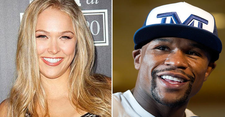 Floyd Mayweather Finally Responds To Ronda Rouseys Domestic Violence Jibe   Guess What He Talks About UNILAD pQNjSgr2V5txe