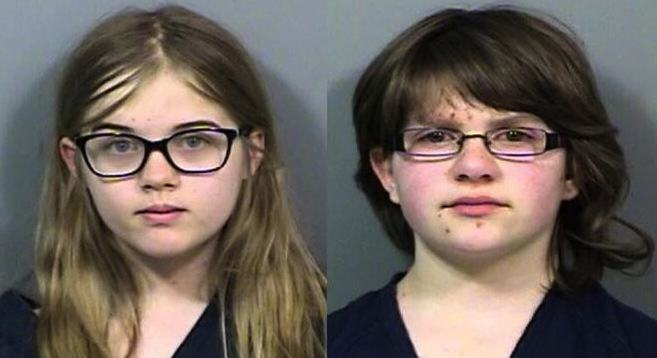Two Girls Accused Of 'Slender Man' Stabbing To Be Tried As Adults UNILAD police photo8
