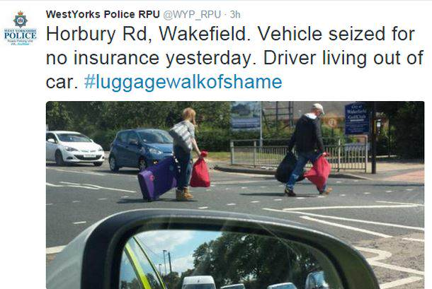 West Yorkshire Police Forced To Apologise After Shaming Homeless People UNILAD police5