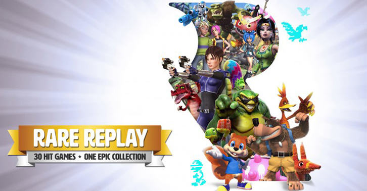 Rare Replay Tops UK Gaming Charts After Developers Seventeen Year Lull UNILAD replay34