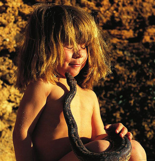 These Awesome Photos Show A Little Girl Who Is Basically The Real Life Mowgli UNILAD sPyging8