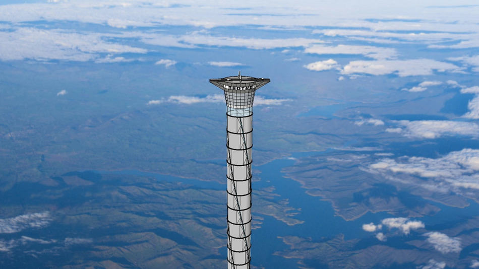 Incredible Inflatable Space Elevator Could Lift People 12 Miles Above The Earth UNILAD space elevator 17