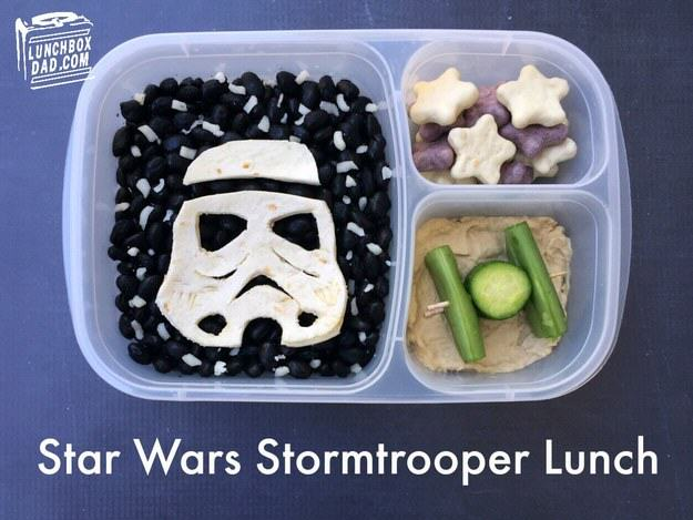 This Awesome Dad Makes The Best School Dinners Ever UNILAD star wars5