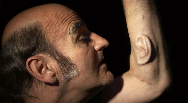 Professor Grows Ear On His Arm That Connects To The Internet, Yep UNILAD stelarc 15