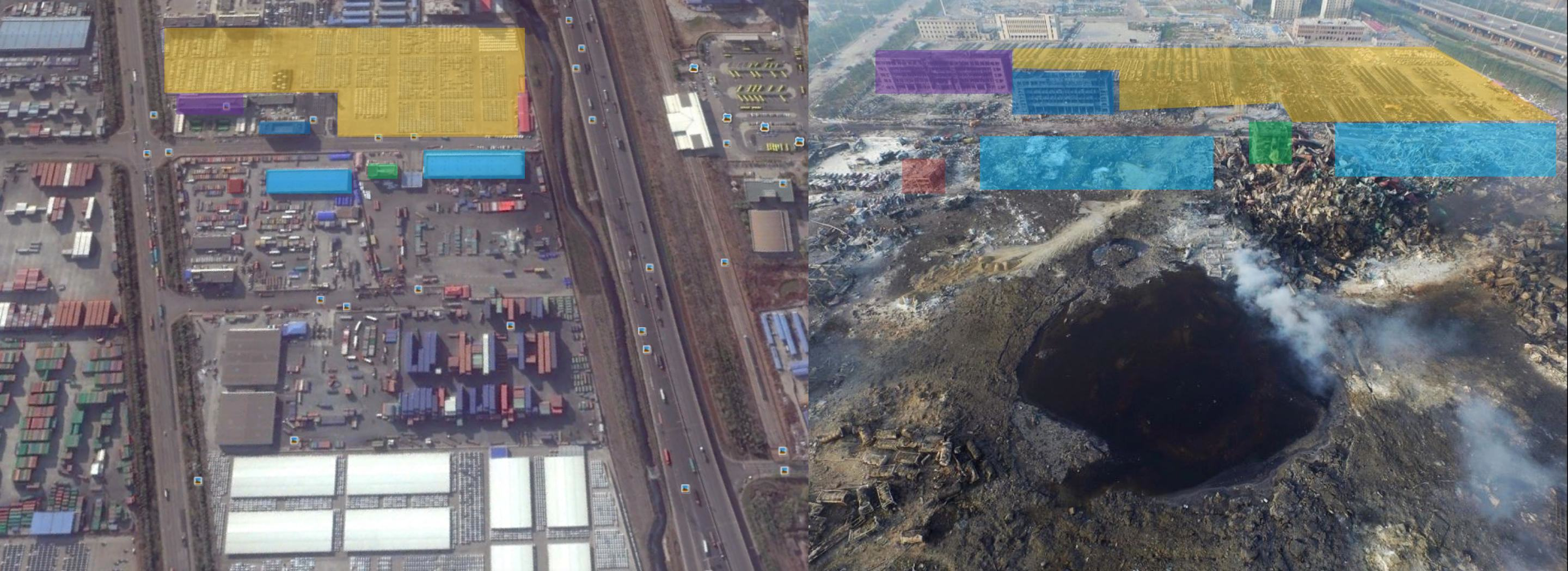 You Wont Believe The Size Of The Crater Left By The Tianjin Explosion UNILAD tianjin 24