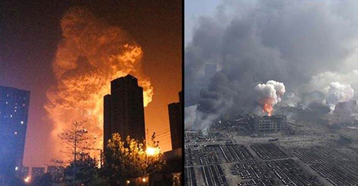 You Wont Believe The Size Of The Crater Left By The Tianjin Explosion UNILAD tianjin 36