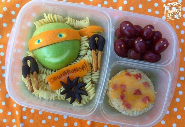 This Awesome Dad Makes The Best School Dinners Ever UNILAD tmnt7