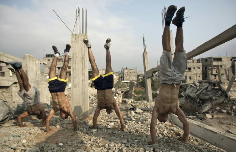 Urban Bodybuilding Is The New Trend On The Streets Of Gaza UNILAD urban bodybuilding 16