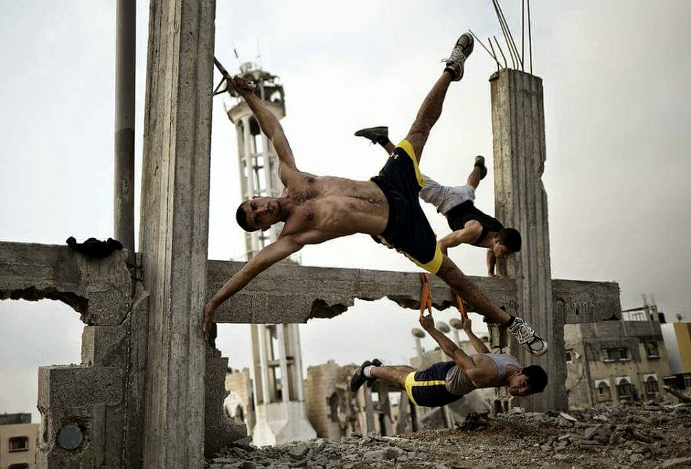 Urban Bodybuilding Is The New Trend On The Streets Of Gaza UNILAD urban bodybuilding 36