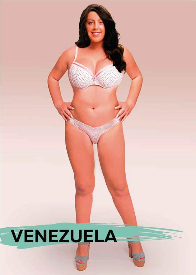 These Ideal Body Types For Women Around The World Are Seriously Interesting To See UNILAD venb2