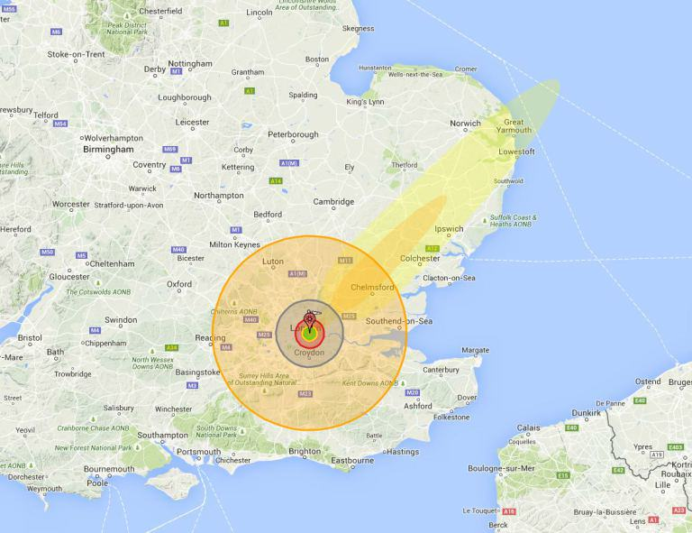 This Is What Would Happen If Nukes Were Dropped On Britain UNILAD xj2iQJf