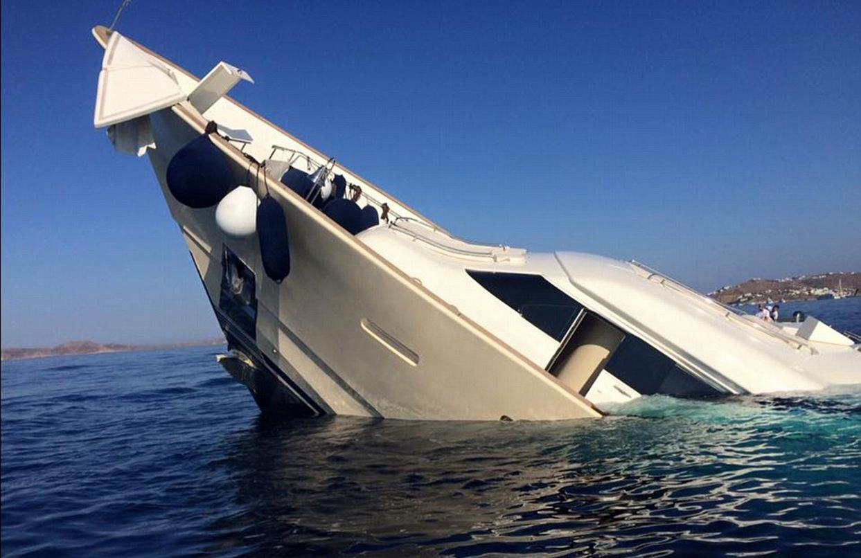 This Incredible £4 Million Yacht Just Sunk And Is Now Destroyed UNILAD yacht sink 24