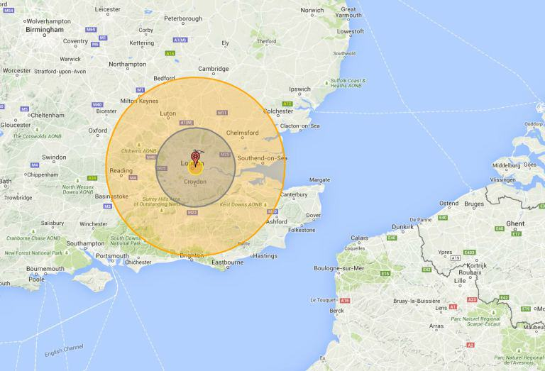 This Is What Would Happen If Nukes Were Dropped On Britain