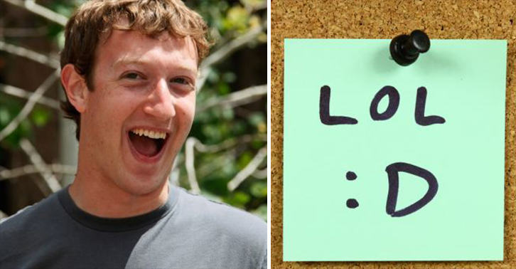 Lol Is Dead And Haha Is The Future, Says Facebook UNILAD zuckerberg lol 34