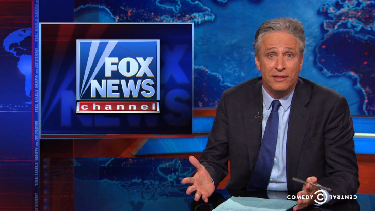 Jon Stewart Had A Glorious Goodbye For Fox News In His Final Week On The Daily Show gWBmnDe0f