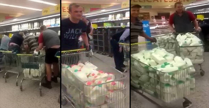 Farmers Clear Supermarkets Of Milk In Protest Of Prices i8CmlkSV0milk farmers FB.jpg