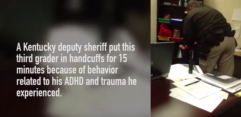 Boy With ADHD Handcuffed At School For Misbehaving p9rmX5ca0