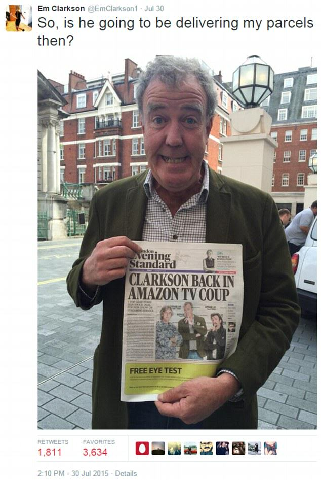 Jeremy Clarksons Daughter Taunts Him Over Twitter After Amazon Deal pYVU7ilQcem.jpg