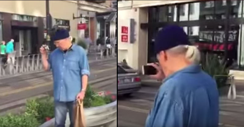 Paedophile Caught Filming Young Girls Confronted By Alert Citizens 12
