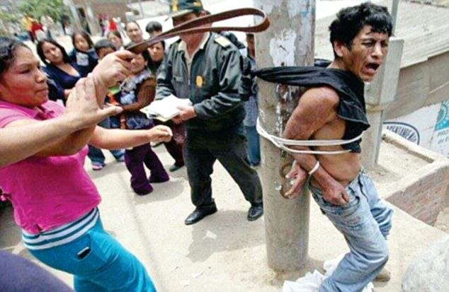 Peruvians Are Delivering Brutal Vigilante Justice To Criminals In The Street 2C99F43500000578 3241283 image a 8 1442860781004