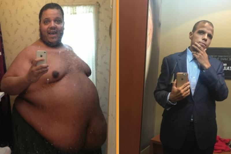50 Stone Man Trolled Bodybuilders, Ended Up Losing Half His Bodyweight 5249590 1436571728.3731