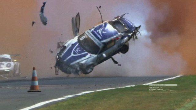 Former F1 Drivers Teenage Son Flips Car Nine Times, Miraculously Survives 85657872 mmmotpiquetcrash219