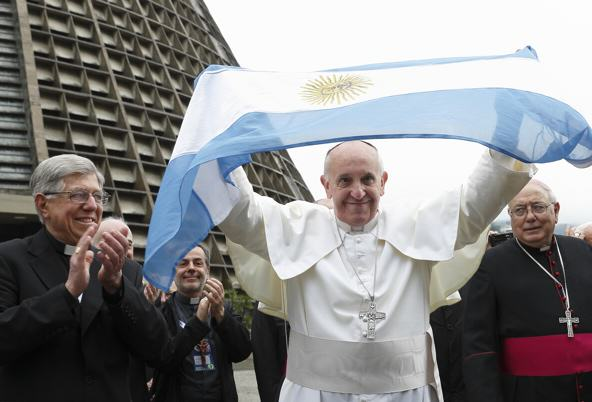 Kim Kardashian Causes Outrage In Argentina With Pope Tweet CNSPaul Haring
